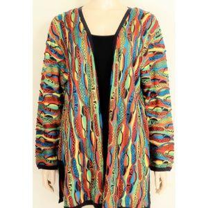COOGI-sweater-SZ-M-100-silk-cardigan-brilliant-co